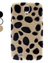 삼성 갤럭시 S4 I9500 (분류 된 색깔)를위한 표범 반점 본 케이스