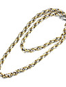 "Fashion Men's  Titanium Steel Metal Hook-ups Link Chain 22"""
