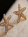Z&X® Beautiful Starfish Ear-ring Mermaid