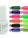 Vernis Gel UV 0.005 1 Gel de couleur UV Classique Faire tremper Longue Duree Quotidien Gel de couleur UV Classique Haute qualite