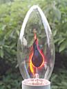1pc 3 E14 C32 Warm White 2300 K Incandescent Vintage Edison Light Bulb AC 220V AC 220-240V V