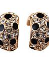2013 female models Korean jewelry elegant and generous Panther diamond pattern C-type ear ring earring E420