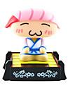 Solaire Sushi Chef principal de secousse actionne Toy Rose Sushi Chef