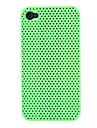 Solid Color Pattern Mesh ПК Жесткий чехол для iPhone 4/4S (разных цветов)