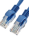 Cat5e UTP RJ45 Male to Male Ethernet Network Cable 350MHz 28AWG CCA PVC (2M)