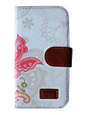samsung 은하를위한 카드 슬롯 복고풍 패턴 지갑 가죽 케이스는 주 3 N9000