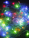 200 LED 20M 크리스마스 휴일 장식 RGB 라이트 LED 끈 빛