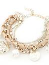 Bracelet multicouche d'amour tissée
