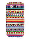 Colorful Dense padrão gráfico de Proteção Hard Case Capa para Samsung Galaxy S3 I9300