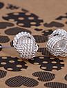 silver earring fashion jewelry Hoop Earrings13