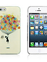Balões coloridos padrão PC Hard Case para iPhone 5/5S