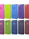 아이폰 4/4S (분류 된 색깔)를위한 매우 얇은 갈기 모래 같은 뒤 케이스