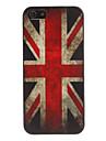 Cas de modèle de drapeau américain de style rétro pour iPhone 5/5S