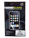 Professional High Transparency LCD Screen Guard with Cleaning Cloth for iPhone 5/5S/5C