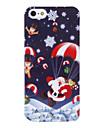 Санта-Клаус Назад Чехол для iPhone 5/5S