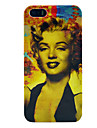 Marilyn Monroe Pattern Plastic Hard Case for iPhone 5/5S