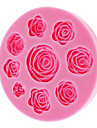 3d rose silicone biscuit biscuit moule