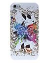 아이폰 5/5S를위한 놀라운 디자인 큰 나비 패턴 실리콘 소프트 케이스