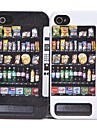 Joyland Vending Machine Pattern ABS Back Case for iPhone 4/4S(Assorted Color)