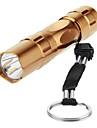 LED Flashlights/Torch Key Chain Flashlights Handheld Flashlights/Torch LED Lumens 1 Mode 5mm Lamp AA Everyday Use