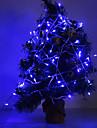 11m 스트링 조명 100 LED Dip Led / 엘자 블루 파티 / 웨딩 / 크리스마스 웨딩 장식 220-240 V 1 세트 / IP44