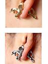 Earring Stud Earrings Jewelry Women Daily Alloy 1pc Gold / Silver