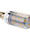 E14 6W 36x5730SMD 420LM 2800-3000K Warm White Light LED Corn Bulb (220V)