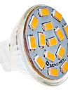 1.5W G4 LED Spotlight MR11 15 leds SMD 5730 Warm White 150-200lm 2800-3000K DC 12V