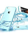 TPU Transparent with Dust Plug Back Case for iPhone 5/5S (Assorted Colors)