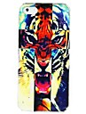 Fierce Tiger Pattern PC Hard Case Frame for iPhone 5/5S