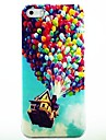 Colorful Balloons Pattern PC Hard Case for iPhone 4/4S