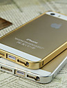 Ultra-Thin Metal Frame for iPhone 5/5S(Assorted Color)
