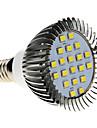 5W E14 Ampoules Maïs LED MR16 20 SMD 2835 370-430 lm Blanc Froid AC 100-240 V