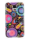 For Samsung Galaxy Case Ultra-thin / Pattern Case Back Cover Case Flower TPU Samsung S5