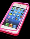 Solid Color with Touch Screen Full Body Case for iPhone 5/5S