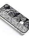 Cool Rhombus Pattern Front & Back Body Sticker for iPhone 4/4S