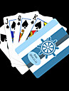 Presente personalizado Padrao Blue Anchor Listrado Playing Card para Poker