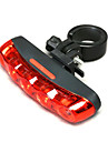 Bike Lights Rear Bike Light LED Cycling Waterproof AAA Lumens Battery Cycling/Bike-MOON