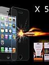 Ultime choc Protecteur d'écran pour iPhone 5/5S Absorption (5PCS)