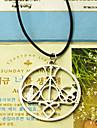 Shixin® Ethnic (Libra) Black Silicone Pendant Necklace(Gold,Silver) (1 Pc)