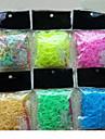 Z&x® радуга красочный стиль ткацкий станок люминесцентные DIY мешок (600 шт полосы + 24 шт С или ˘S клипы + 1 крюк)