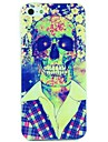Cool Skull in Shirt Print Case for iPhone 5/5S