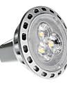 2W GU4(MR11) Lâmpadas de Foco de LED MR11 3 SMD 2835 180 lm Branco Quente DC 12 / AC 12 V