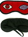 Mask Inspired by Naruto Hatake Kakashi Anime Cosplay Accessories Mask Red Polar Fleece Male
