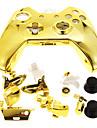 Game Controller Caso Shell para Xbox Um Ouro
