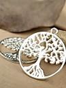 eruner®29 * charmes 25mm alliage d'arbres de vie pendentifs bijoux bricolage (5pcs)