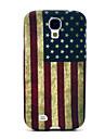 Ретро-модель США Национальный флаг ТПУ мягкий чехол для Samsung Galaxy S4 i9500
