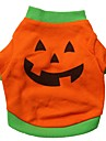 Cat / Dog Costume / Shirt / T-Shirt / Outfits Orange Dog Clothes Summer Cartoon Cosplay / Halloween