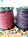 Cord & Wire / Chains Leather Purple / Pink 1 pcs 100 cm For