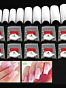 nail art Half Nail Tips Abstract Classic High Quality Daily